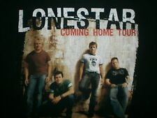 LONESTAR CONCERT T SHIRT Coming Home Tour vtg 2005 Flaw Country Band SMALL