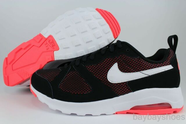 NIKE AIR MAX MUSE BLACK/WHITE/HOT LAVA PINK ORANGE CORAL RUNNING 1 90 WOMEN SIZE