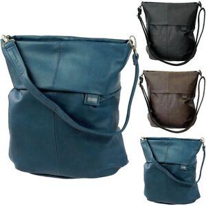 TWO Women's Bag, Crossover Hobo Shopper Shoulder Bag Carrybag, Ladys Bag