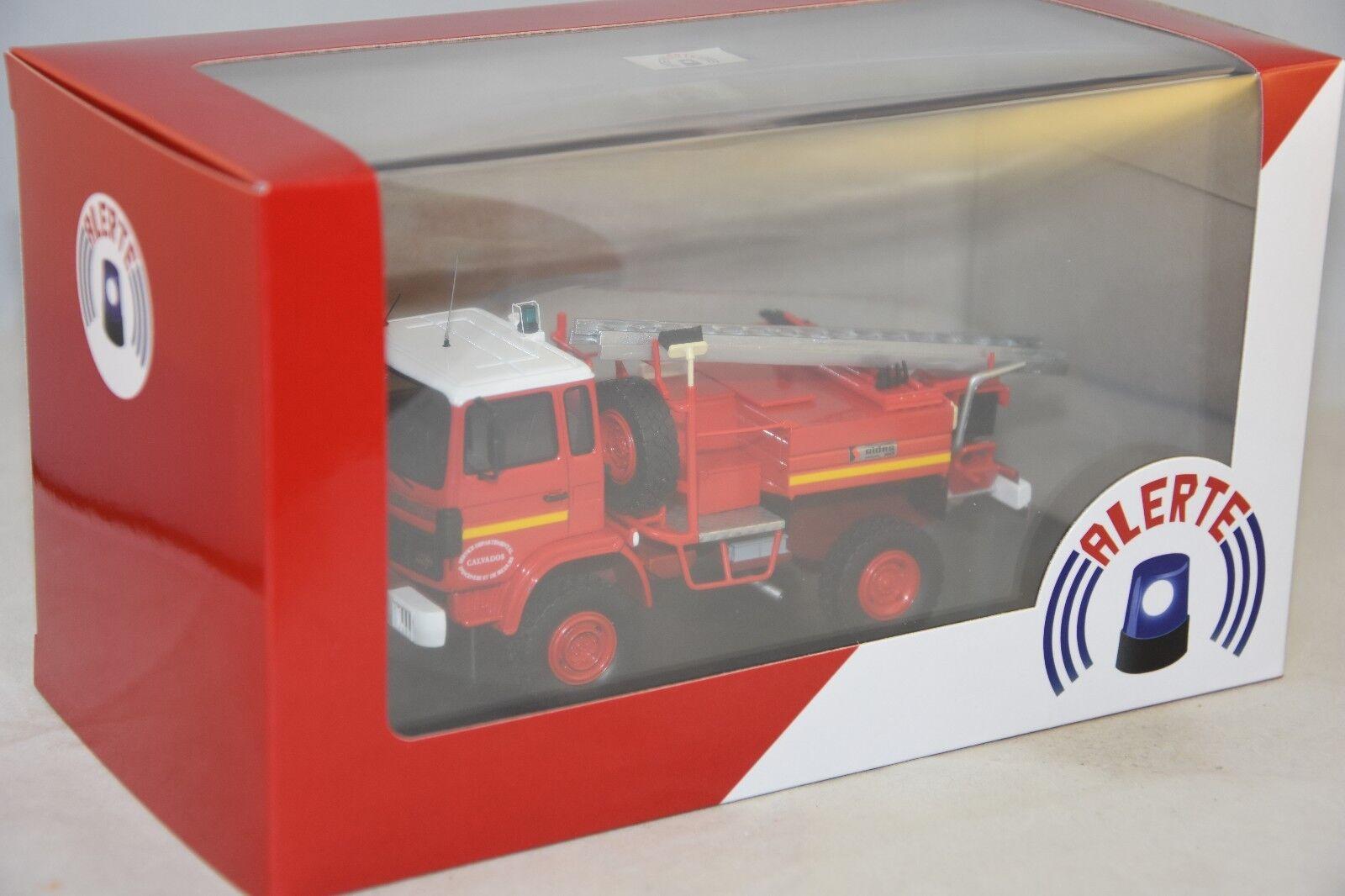- RENAULT M180 SIDES 14 Pompiers  1/43