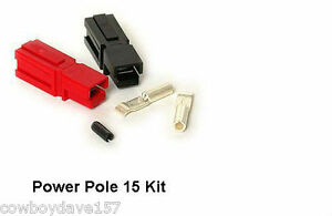 Anderson-Powerpole-15-Amp-Kit-50-Pairs-Power-Pole-Includes-Roll-Pin-Authentic