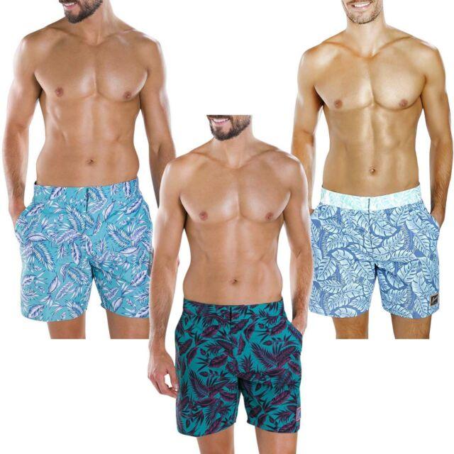 NEW Mens swim trunks Shorts bathing suit BLUE size 28