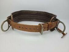 Bashlin 60 Fh Lineman Pole Climbing Leather Belt Harness D26