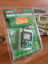 NINTENDO MINI CLASSICS GAME & WATCH DONKEY KONG JR 1 ière EDITION 1998 FRANCAISE