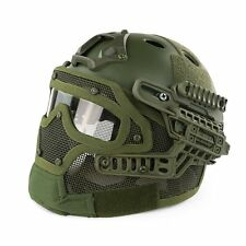 New OD Protective Goggles G4 System Full Face Mask Helmet Airsoft Paintball