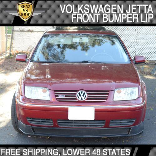 Fits 99-04 VW Volkswagen Bora MK4 Type-A Add-On Front Bumper Lip Spoiler