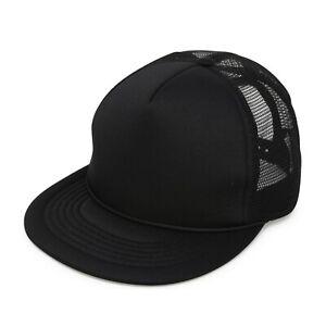 024c69726 Details about DALIX Flat Bill Snapback Cap Foam Mesh Trucker Classic Hat  Adjustable Neon