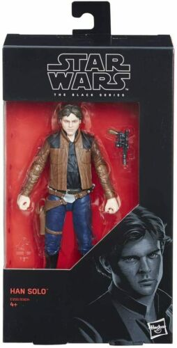 STAR Wars Il NERO SERIE Han Solo 6 pollici Action Figure Scala