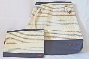 3088c9eda0 New Lauren Ralph Lauren beach tote and pouch set womens RLR Casco ...