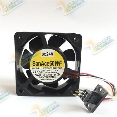 For Sanyo 9WF0624H4D03 6025 24V 0.15A For Waterproof industrial cooling fans