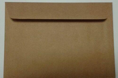 creme kraft 100g-120g Kuvert weiss 100 Briefumschläge C6 114x162 mm NK