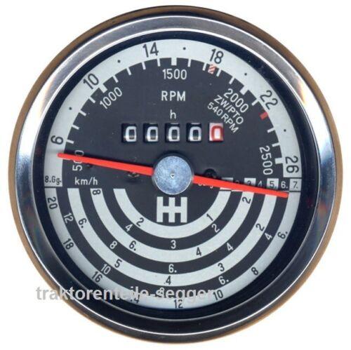 Traktormeter für IHC  433 533 633 733 Schlepper Traktor 297