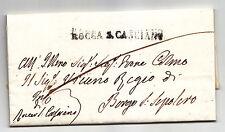 Z215-ROMAGNA/TOSCANA.PREF.ROCCA SAN CASCIANO X BORGO S.SEPOLCRO
