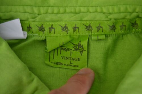 Guy Harvey Vintage Mens SS Polo Shirt By Aftco Bluewater Green Choose Size NWT