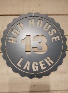 Brand New Hop House 13 Lager The Brewers Project Tin Sign