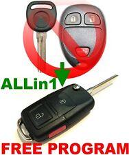 ALin1 FLIP KEY REMOTE FOR HUMMER H2 CHIP KEYLESS ENTRY TRANSPONDER BEEPER FOB W