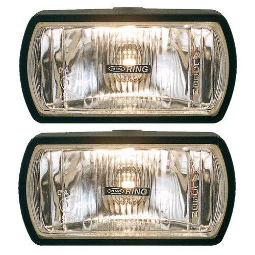 Ring Roadrunner Rectangular Driving Lamps - Halogen Twin Set RL022