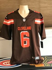 info for 232b2 ebba8 Details about Cleveland Browns #6 Baker Mayfield Jersey Brown All Stitched  Large
