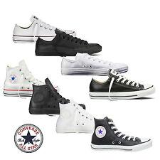 Converse Chucks Taylor All Star HI/Low Leder Herren Schuhe Sneaker Stiefel Neu!!
