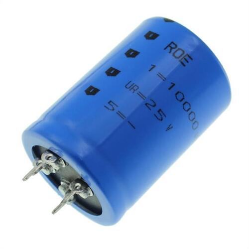 2x 4-pin Elko condensador 10000µf 25v 85 ° C; eyv00cd510e02v; 10000uf