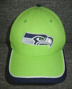 New Era SEATTLE SEAHAWKS Neon Rave Green NFL FOOTBALL HAT Baseball ... 3d217ec48