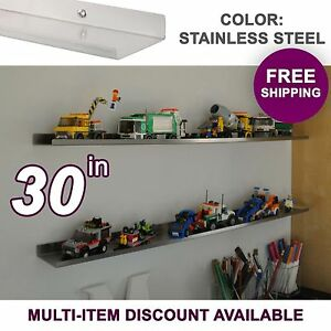 30-034-ultraLEDGE-Stainless-Steel-LEGO-Display