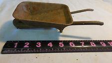 Metal Tin Vintage Wheelbarrow Wheel Barrel Toy Made USA 1940s Garden