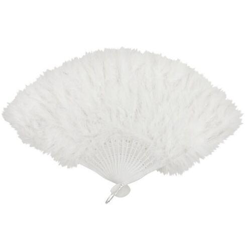 FEATHER HAND FANS FANCY DRESS COSTUME 1920?S 30?S BURLESQUE HEN NIGHTS SHOW GIRL
