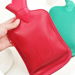 Green Rubber Hot Water Bag Warmer Rubber Winter Hand&Feet Warmer