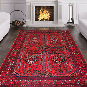 Image Is Loading Small Xlarge Afghani Style Khorasan Bokhara Traditional Rug