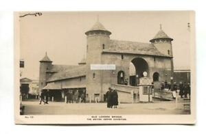 British-Empire-Exhibition-1924-Old-London-Bridge-old-real-photo-postcard