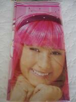 Lazy Town Party Table Cover Stephanie Birthday Supplies Decoration Girl Pink
