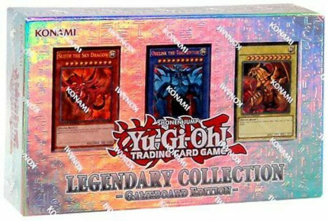 Gameboard Edition Factory Sealed YUGIOH Legendary Collection 1
