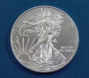 2011 American Silver Eagle Walking Liberty Coin 1oz 999