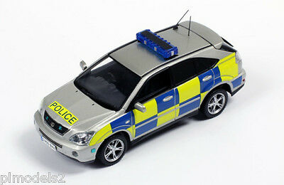 J COLLECTION - LEXUS RX400h HYBRID HAMPSHIRE POLICE 2005 1:43 SCALE BNIB