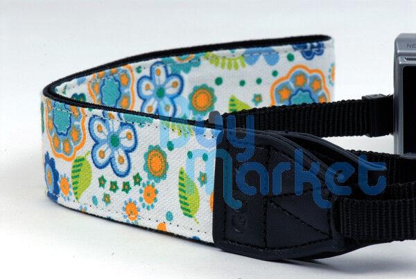 DSLR Camera Colorful Flower Shoulder Neck Belt Strap Grip Straps for Canon Nikon