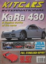 Kitcars International 06/1993 featuring KA RA 430, Troll, JBA, GD 427, Marlin,KD