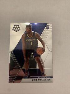 ZION-WILLIAMSON-2019-20-Panini-Prizm-MOSAIC-Base-Rookie-Card-RC-209-Pelicans