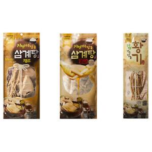 Korean Medicinal Herb Ingredients for Samgyetang Ginseng Chicken Stew 삼계탕 재료 황기
