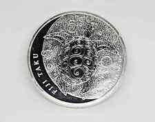 2013 Fiji $2 FIJI TAKU Hawksbill Turtle 1 oz. Fine Silver .999 Coin Medallion