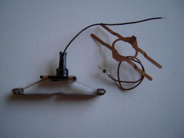 Märklin H0 73404 Stromzuführung mit asymmetrischem Schleifer NEU Länge 5,0 cm S4