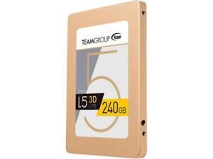 "Team Group L5 LITE 3D 2.5"" 240GB SATA III 3D NAND Internal Solid State Drive (SS"