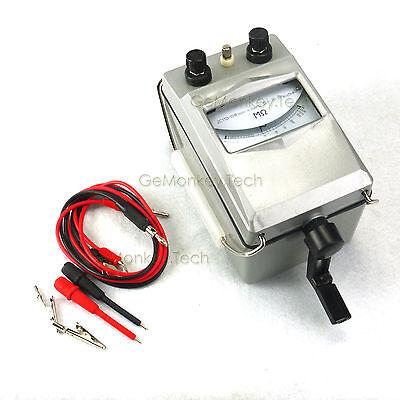 Megger Meter Insulation Tester Resistance Meter 2500MΩ 2500V
