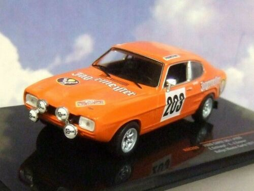 IXO DIECAST 1//43 Delantales FORD CAPRI MKI MK1 #203 Monte Carlo Rally 1973
