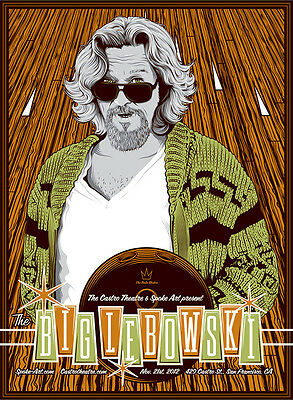 The big Lebowski the dude poster №7 print giclee 8X12/&12X17