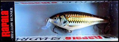 SUPER RARE RAPALA SHALLOW SHAD RAP SSR 7 cm SPECIAL SEW Pla Sew color