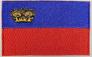 Liechtenstein-Aufnaeher-gestickt-Flagge-Fahne-Patch-Aufbuegler-6-5cm-neu