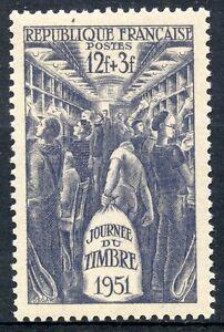 STAMP-TIMBRE-FRANCE-NEUF-N-879-INTERIEUR-D-039-UN-WAGON-POSTE