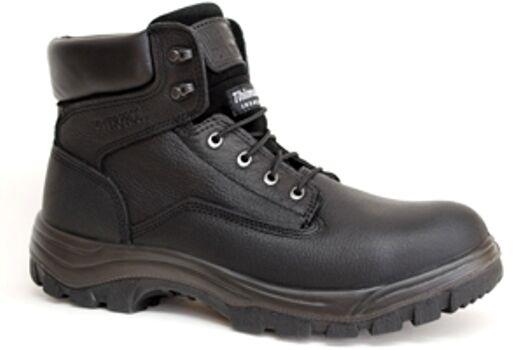 Venta  zona de trabajo negro 6  Impermeable Bota De SUELA FLEXIBLE PUNTERA DE ACERO-S651