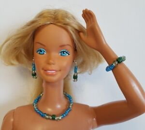"Mint Mix DOLL JEWELRY for 18"" SUPERSIZE BARBIE & similar sized dolls - NO DOLL"
